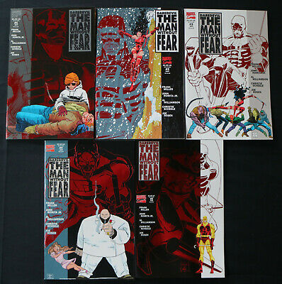 DAREDEVIL THE MAN WITHOUT FEAR #1-5 SET NM FRANK MILLER -99p MARVEL COMICS SALE