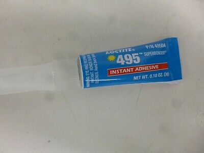 NEW!! 3g Tube Instant Adhesive, Begins to Harden: 20 sec., 45 cPs, Clear 10 PACK