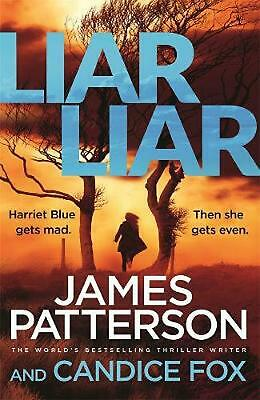 Liar Liar: (Harriet Blue 3) by James Patterson Paperback Book Free Shipping!