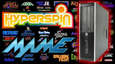 HyperSpin MAME Arcade PC Gaming Computer - With 2TB Hard Drive