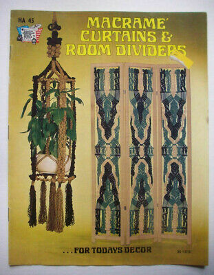 Macrame Curtains & room dividers pattern booklet
