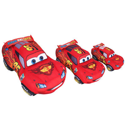17/25/35cm Pixar Cars 3 Lightning McQueen Plush Cars Stuffed Doll Kids Toys Gift
