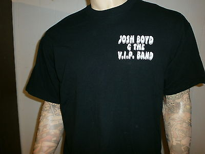 JOSH BOYD CONCERT T SHIRT Blues Guitar VIP BAND srv Down On Eastside Tour XL