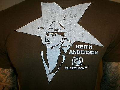KEITH ANDERSON CONCERT T SHIRT Staff Local Crew MARYVILLE UNIVERSITY St. Louis M
