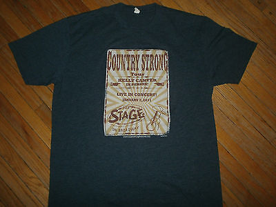 COUNTRY STRONG MOVIE T SHIRT Kelly Canter Concert Tour Poster Gwyneth Paltrow