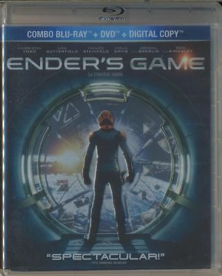 Enders Game (Blu-ray/DVD, 2014, 2-Disc Collector's Set, Canadian)