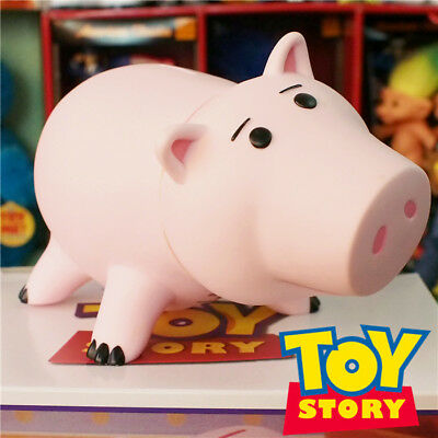 18CM Toy Story Hamm Piggy Bank Pink Pig Coin Box PVC Model Kids Gift Toys