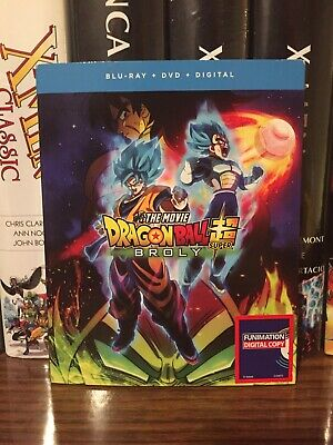 Dragon Ball Super Broly Blu Ray/DVD/Digital