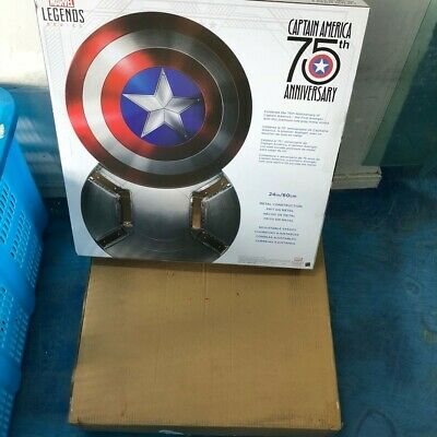 75th Anniversary Avengers Captain America Shield Metal Toys 1:1 Prop IN STOCK
