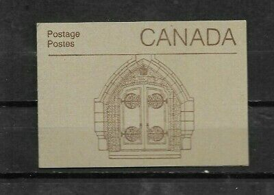 pk44313:Stamps-Canada #BK88b Parliament Booklet - Ironwork Cover