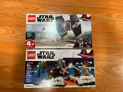 LEGO Star Wars 75237 TIE Fighter Attack & 75236 Dual on Starkiller Base