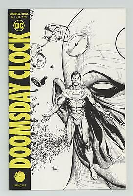 Doomsday Clock (DC) 1D 2018 Frank Midnight Release Variant VF/NM 9.0