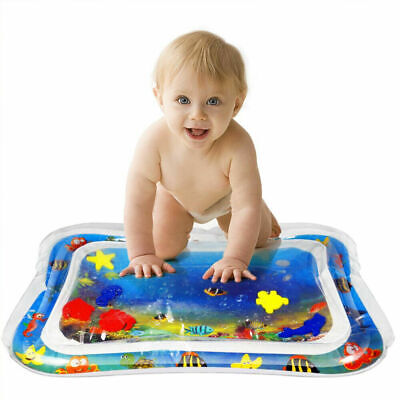 Inflatable Water Mat For Baby Infant Toddler Mattress Splash Play Mat Tummy Time
