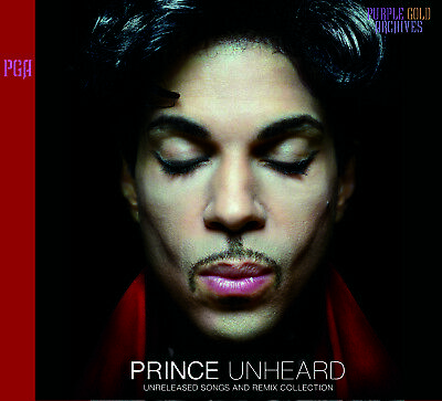 PRINCE / UNHEARD - UNRELEASED SONGS AND REMIX COLLECTION PRESS 2xCD *F/S