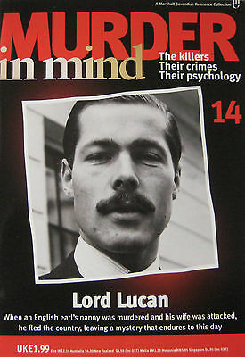 Murder in Mind magazine Issue 14  - Lord Lucan