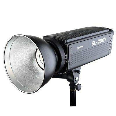Godox SL-200Y Yellow Version LCD Panel LED Video Light Wireless Control Studio