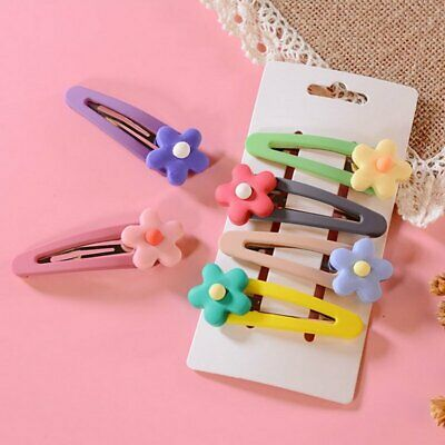 Baby Kids Girls Hair Pin Flower Hair Clips Jewelry Headdress Barrette Headwear