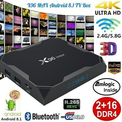 A95X PLUS SMART TV Box Android 8 1 Amlogic S905 Y2 4G 32G Dual Wifi