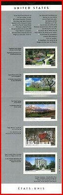 Canada Stamp Mint Full Booklet(BK243)  #1903(1903a-e) - Touristic Attractions