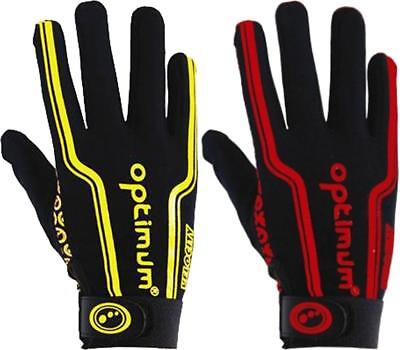 Optimum Velocity Rugby Union League Full Finger Glove Super Grip Windproof Mitts