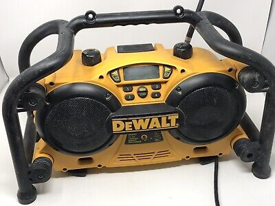 DeWalt DC011 Worksite Radio AM FM Clock ( No Battery )