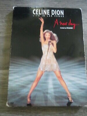 DVD Celine Dion live in Las Vegas a new day, pre-owned