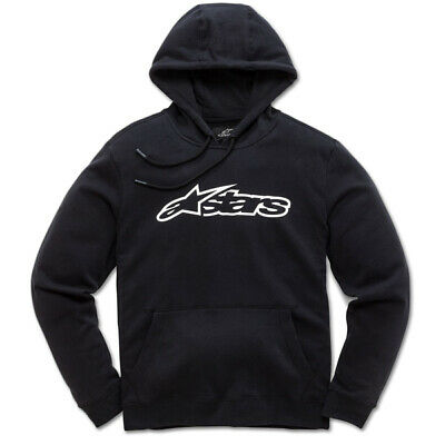 Alpinestars Blaze Fleece Black White Hoodie