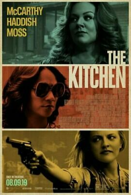 """THE KITCHEN"" 2019 27x40 Orig 1-Sheet Movie Poster DS Melissa McCarthy DC comics"