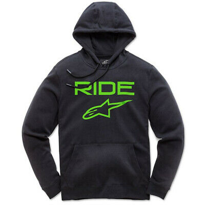 Alpinestars Ride 2.0 Black Green Hoodie