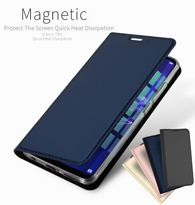 DD For Huawei Mate 20 Lite Pro PU Leather Flip Case Wallet Magnetic Skin Cover