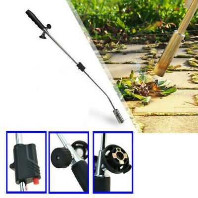 Weed Burner Gas Blowtorch Garden Outdoor Weeds Tiles Stones Killer Wand Butane