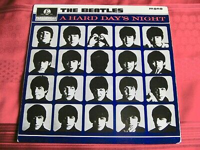 The Beatles - A Hard Days Night Original Uk 1St Press Mono Lp -Excellent