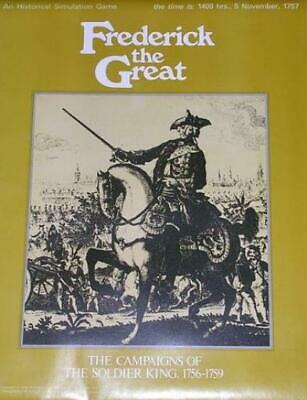 SPI Wargame Frederick the Great Tray NM