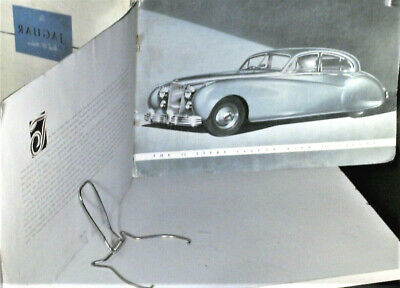 RARE CATALOGUE JAGUAR 3,4 MARK SEVEN (MK 7) , english édition 1950's