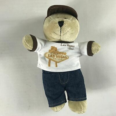 "Starbucks Plush Las Vegas Bear 2009 Bearista Beans 10"" Stuffed Coffee Teddy Toy"