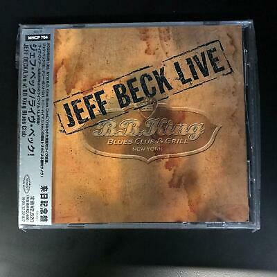 Jeff Beck ‎– Live At BB King Blues Club [Japan, 2003] With OBI strip