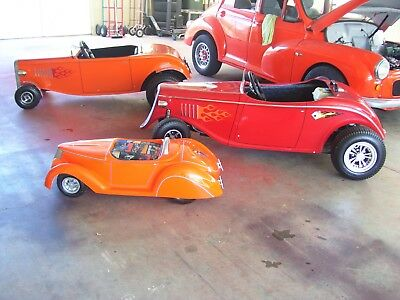 Mini Kids Hotrod 1.2 Mtrs Long Has A Chassis Under It Pump Up Tyres Etc