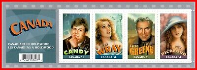 Canada Stamp Mint #2153 - Souvenir Sheet Canadians in Hollywood (2006)