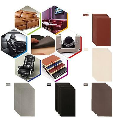 Leather And Vinyl Repair Patch For Car Seat Sofa Fix Holes Burns Rips Gouges Hot