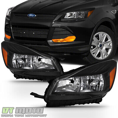 2013-2016 FORD ESCAPE Headlights Halogen Headlamps