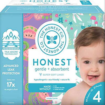 Snug & Dry Baby Box Disposable Diapers Size 4 60 Count Newborn Child children