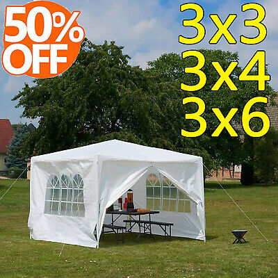 Marquee Outdoor PE Tent Gazebo Waterproof Garden Awning Party Canopy 3 colour