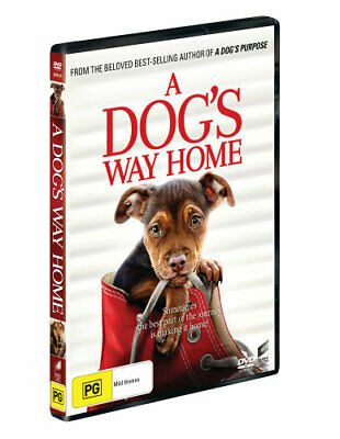 NEW A Dog's Way Home DVD Free Shipping