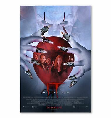 IT Chapter 2 Two Final Official Movie Poster Horror Film Print 24x36 16x24