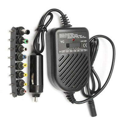 DC Adapter Car Laptop Charger Power Supply For HP ASUS DELL Lenovo Samsung