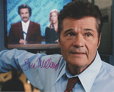 ACTOR FRED WILLARD Signed ANCHORMAN 4x6 Photo AUTOGRAPH 1