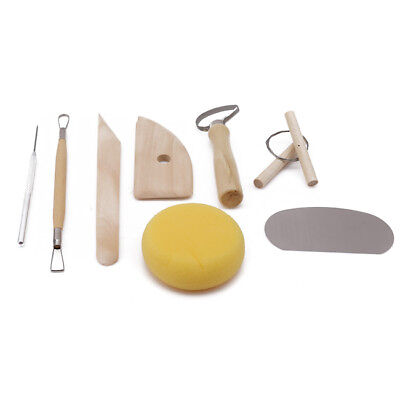Clay Sculpting Set Wax Carving Pottery Tool handle Modeling Ceramic Shaper BB