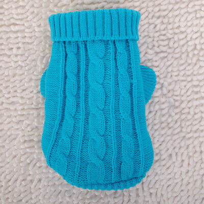 Knitted Dog -Sweater Chihuahua Clothes Knit Wear Pet Puppy Jumper Clothing Hot