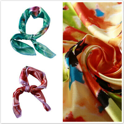 Women Scarf Flower Printed Stylish Long Shawl Colorful Autumn Wrap Scarves BS