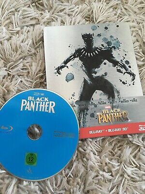 Black Panther (2018) Blu-ray Steelbook Neuwertig Deutsch